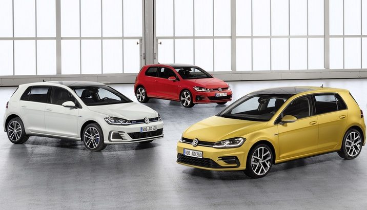Пакетні комплектації Volkswagen Golf