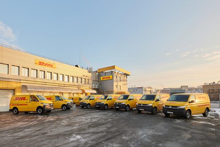 14 нових Transporter 6.1 було передано DHL Україна