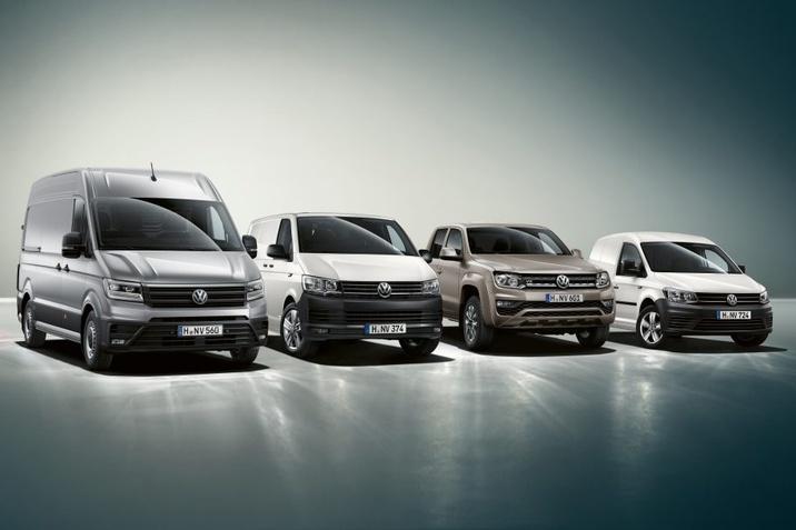 Комерційні автомобілі Volkswagen