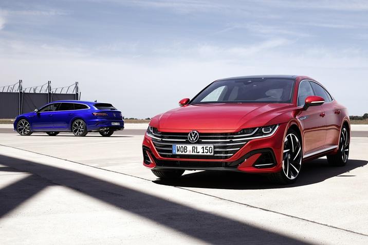 Оновлений Volkswagen Arteon