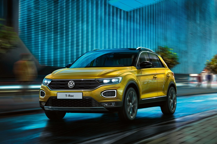 Новий Volkswagen T-Roc