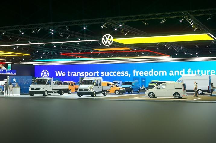 Віртуальний шоурум Volkswagen Комерційні автомобілі