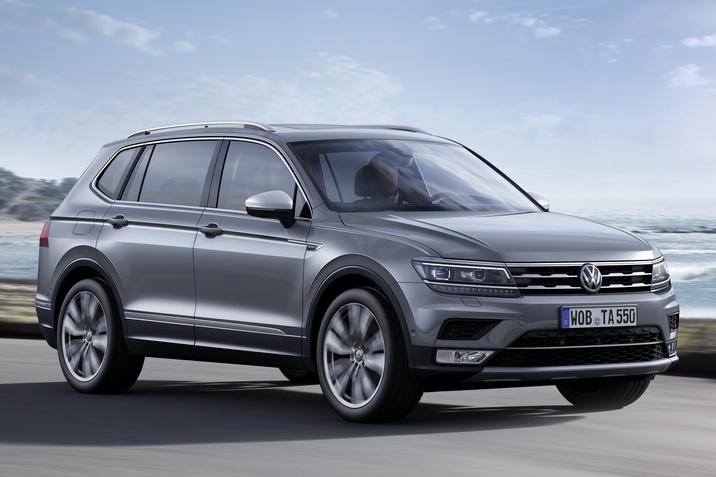 Volkswagen Tiguan Allspace 2.0 TSI 4MOTION Highline