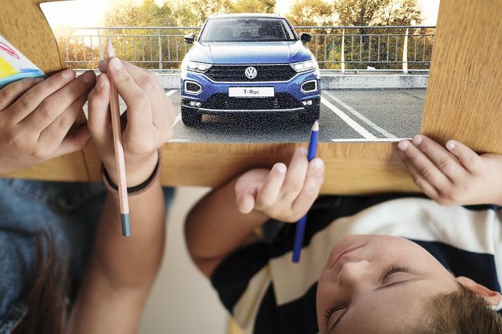 """Конкурс дитячого малюнка """"З Volkswagen у Новий рік!"""""""