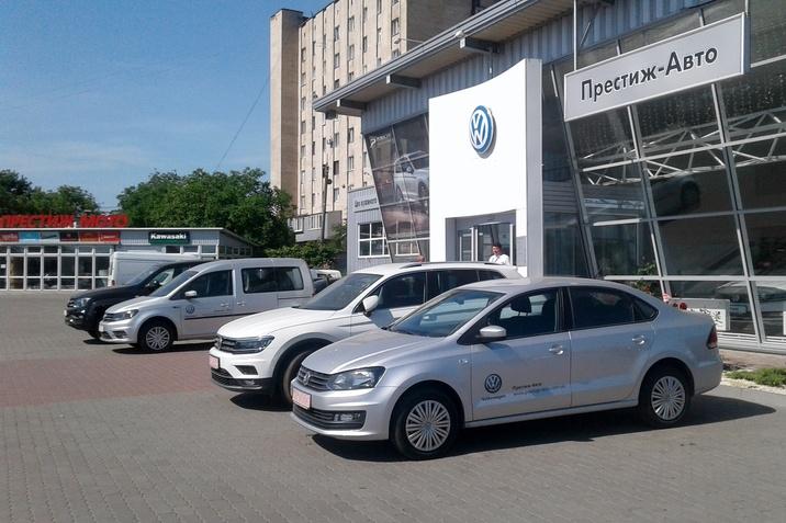 Тест-драйв Volkswagen Престиж-Авто