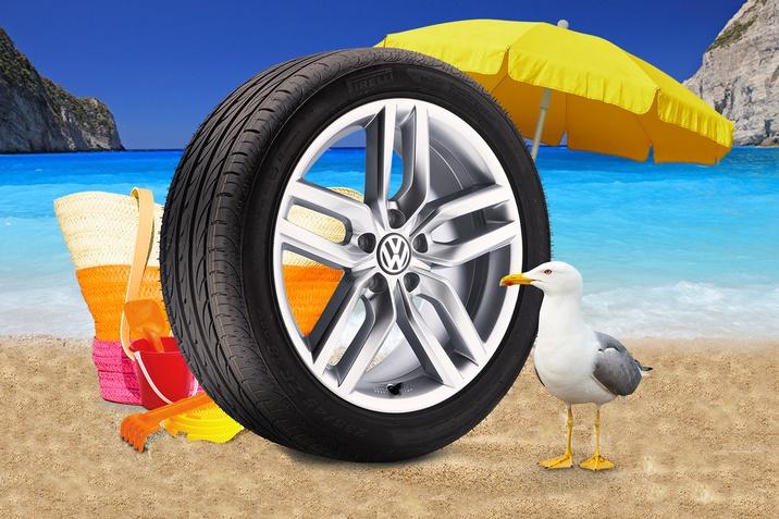 Літня гума Volkswagen