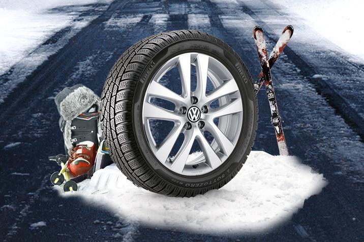 Зимові шини та колеса в зборі